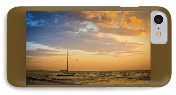 Let's Sail Away IPhone Case by Marvin Spates