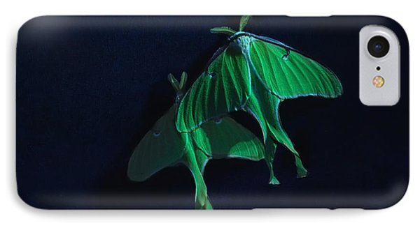 IPhone Case featuring the photograph Let's Swim To The Moon by Susan Capuano