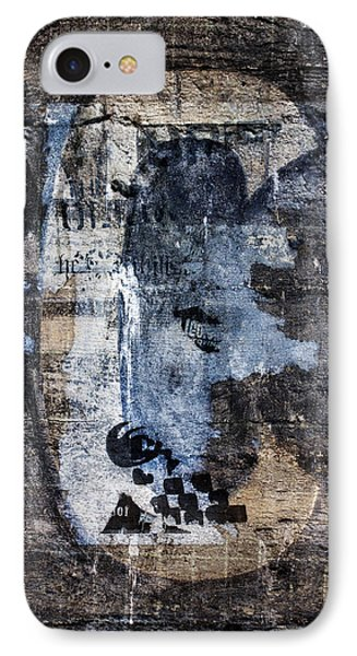 Letter C Found On Walls IPhone Case by Carol Leigh