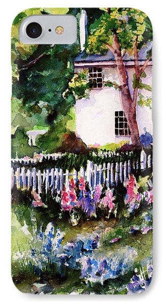 IPhone Case featuring the painting Letterfrack Ireland by Marti Green
