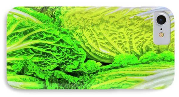 Lettuce 5 Phone Case by Bruce Iorio