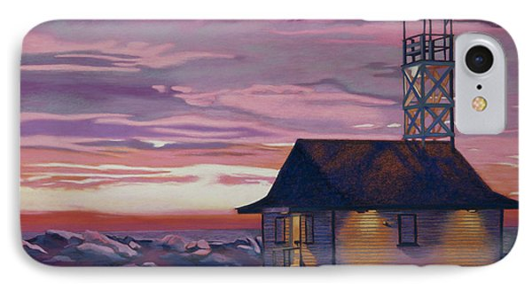 Leuty Life Guard House Phone Case by Tracy L Teeter
