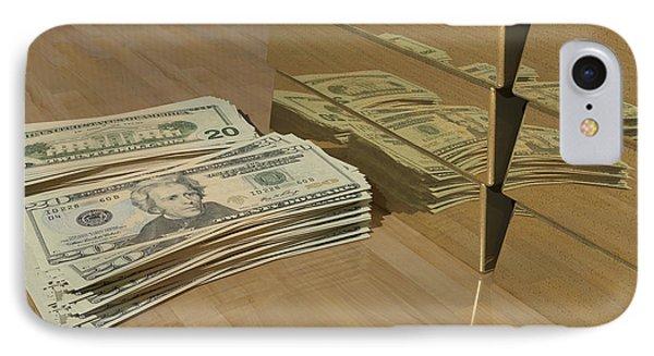 Level One Money Manifestation  IPhone Case by James Barnes