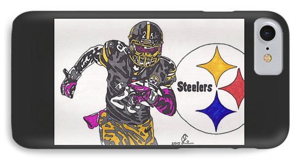 Le'veon Bell 2 IPhone Case by Jeremiah Colley
