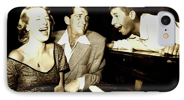 Lewis And Martin And  Rosemary Clooney 1950s IPhone Case by N B C