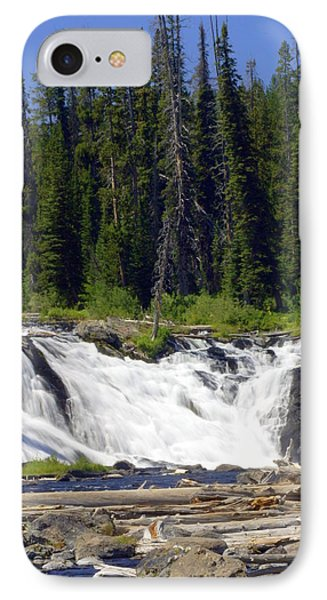 Lewis Falls Phone Case by Marty Koch