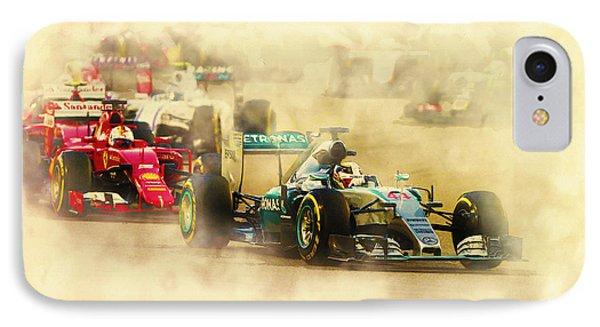 Lewis Hamilton Leads Again IPhone Case