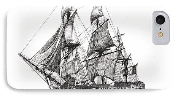 L'hermione IPhone Case by Stephany Elsworth