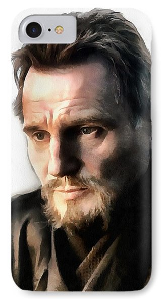 Liam Neeson IPhone Case by Sergey Lukashin