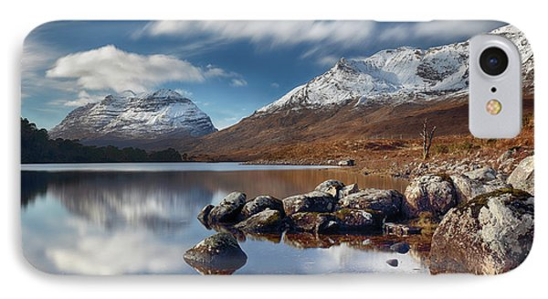 IPhone Case featuring the photograph Liathach by Grant Glendinning