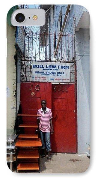 Liberian Lawyer IPhone Case