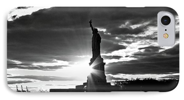 IPhone Case featuring the photograph Liberty by Ana V Ramirez
