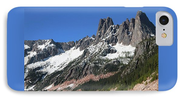 Liberty Bell Mountain Range Over Washington Pass IPhone Case