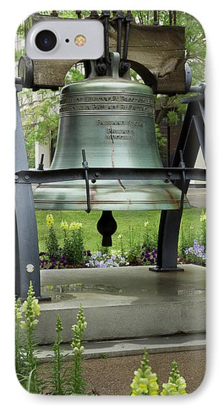 IPhone Case featuring the photograph Liberty Bell Replica by Mike Eingle