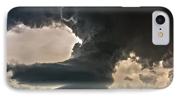 IPhone Case featuring the photograph Liberty Bell Supercell by James Menzies