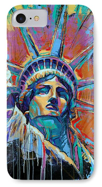 Liberty In Color IPhone 7 Case by Damon Gray