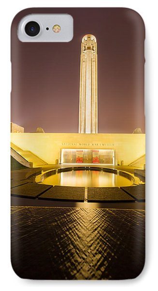 Liberty Memorial On July 24 2015 IPhone Case by Tommy Brison