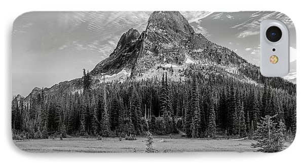 IPhone Case featuring the photograph Liberty Mountain At Sunset by Jon Glaser