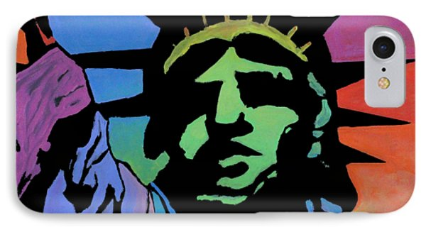 Liberty Of Colors IPhone Case by Jeremy Aiyadurai