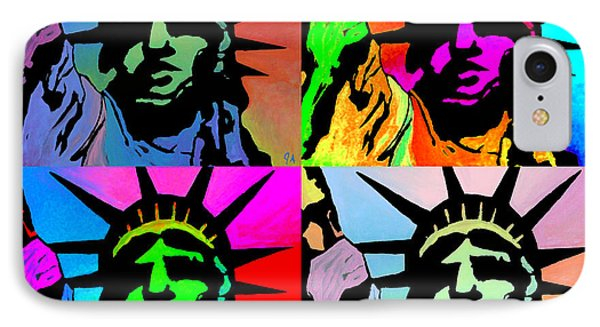 Liberty Of Colors - Mosaic IPhone Case by Jeremy Aiyadurai