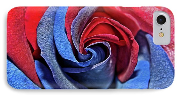 IPhone Case featuring the photograph Liberty Rose by Judy Vincent