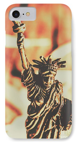 Liberty Will Enlighten The World IPhone Case by Jorgo Photography - Wall Art Gallery