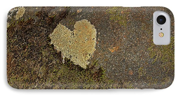 IPhone Case featuring the photograph Lichen Love by Mike Eingle