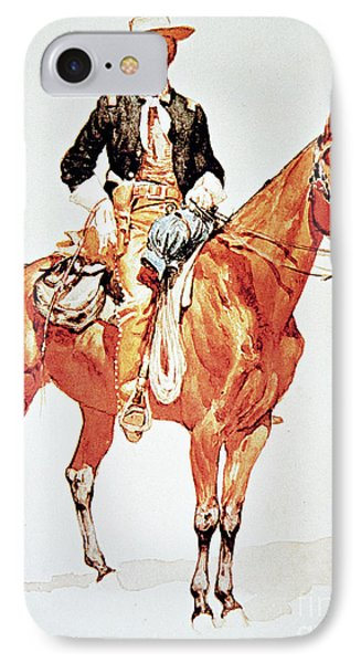 Lieutenant S C Robertson, Chief Of The Crow Scouts IPhone Case