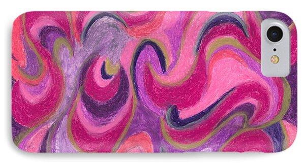 IPhone Case featuring the painting Life Energy by Ania M Milo