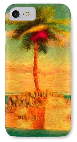 Life Finds A Way 1 - Version 2 IPhone Case by Caito Junqueira