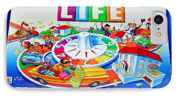 Life Game Of Life Board Game Painting IPhone Case
