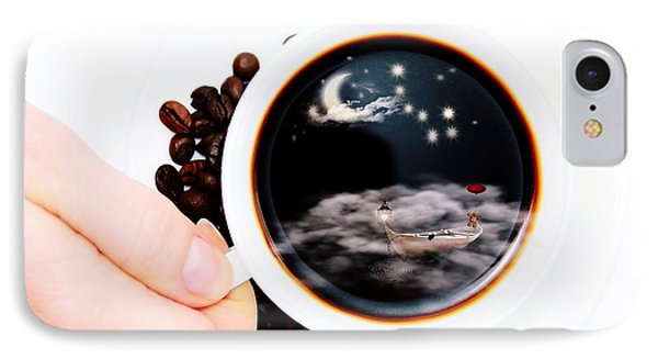 Life In A Cup Of Coffee IPhone Case