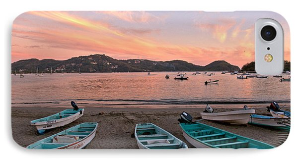 Life In A Fishing Village IPhone Case by Jim Walls PhotoArtist