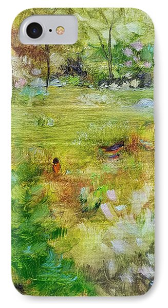 IPhone Case featuring the painting Life Lessons by Judith Rhue