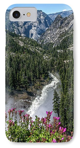 Life Line Of The Valley IPhone Case by Ryan Weddle