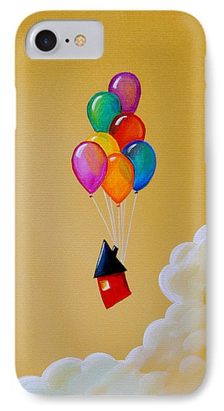 Life Of The Party IPhone Case by Cindy Thornton