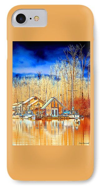 Life On The River IPhone Case by Steve Warnstaff