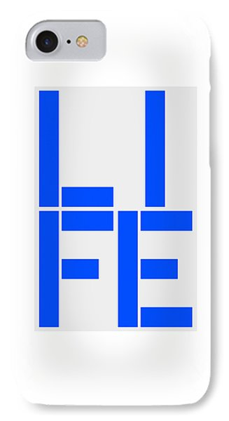 Life IPhone Case by Three Dots