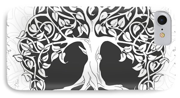 Life Tree. Life Is Like A Tree IPhone Case by Gina Dsgn