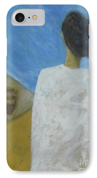 IPhone Case featuring the painting Lifeboat by Glenn Quist