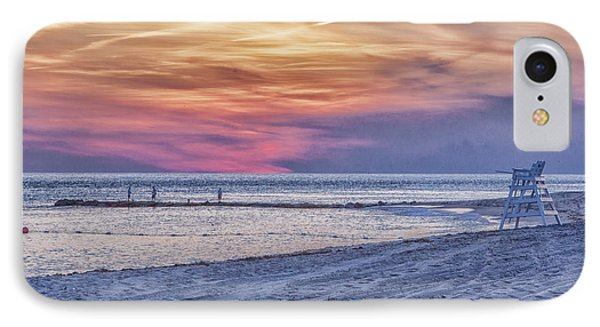 Lifeguard Chair At Sunset IPhone Case
