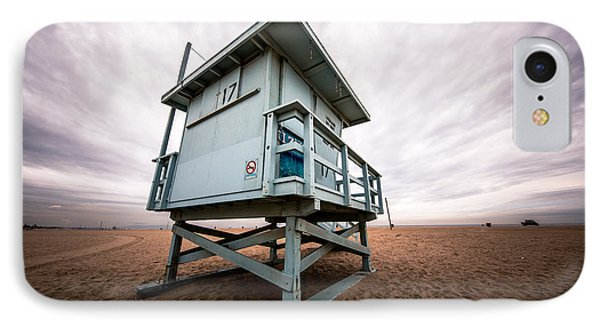 Lifeguard Stand IPhone Case by Andrew Mason