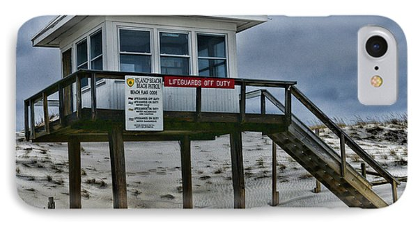 Lifeguard Station 1 IPhone Case by Paul Ward