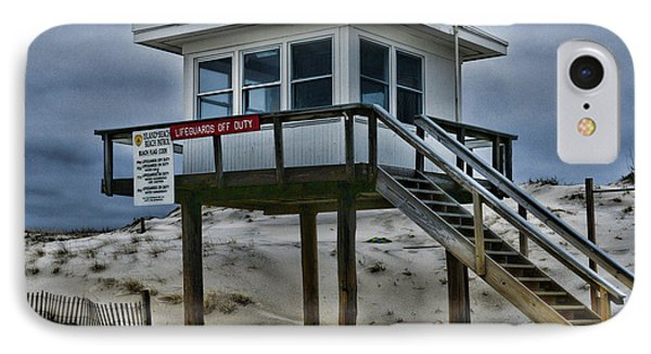 Lifeguard Station 2  IPhone Case by Paul Ward