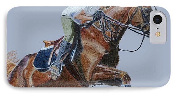 Horse Jumper IPhone Case