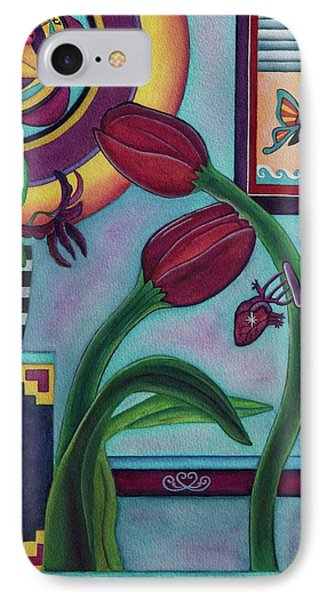 Lifting And Loving Each Other IPhone Case by Lori Miller