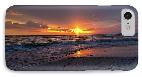 IPhone Case featuring the photograph Light Along The Shore by Everett Houser