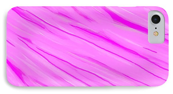 Light And Dark Pink Swirl IPhone Case