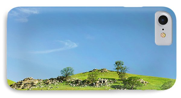 IPhone Case featuring the photograph Light And Shadows - Spring In Central California by Ram Vasudev