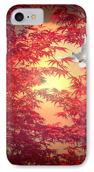 Light As A Feather IPhone Case by Philippe Sainte-Laudy